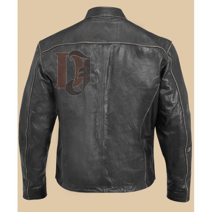 Men Biker distressed leather jacket-4-700×700