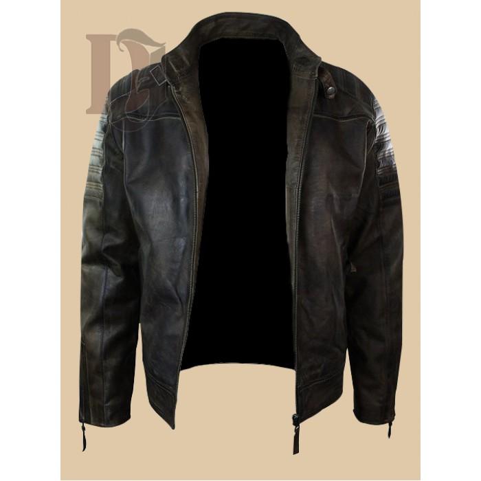 Men Vintage Distressed Biker Jacket-2-700×700