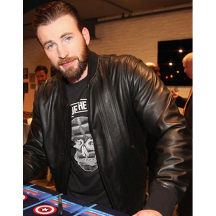 avengers-age-of-ultron-premiere-chris-evans-leather-jacket-750×750
