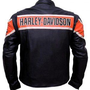 official photos e3da8 5ad3b Harley Davidson Biker Genuine Leather Jacket Victoria Lane Style Motorcycle  Top