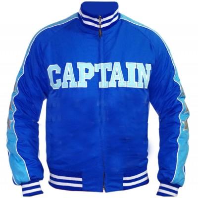 Captain Boomerang Suicide Squad Blue Jai Courtney Bomber Satin Jacket (2)-400×400