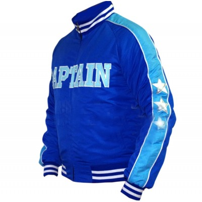 Captain Boomerang Suicide Squad Blue Jai Courtney Bomber Satin Jacket (3)-400×400