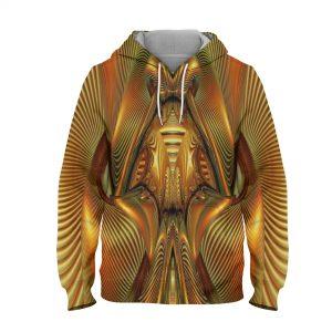 Abstract Art Design Hoodie – 3D Printed Pullover Hoodie.