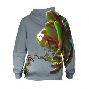 Abstract Art Work Hoodie – 3D Printed Pullover Hoodie