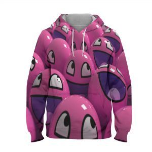 Abstract Cartoon Hoodie – 3D Printed Pullover Hoodie