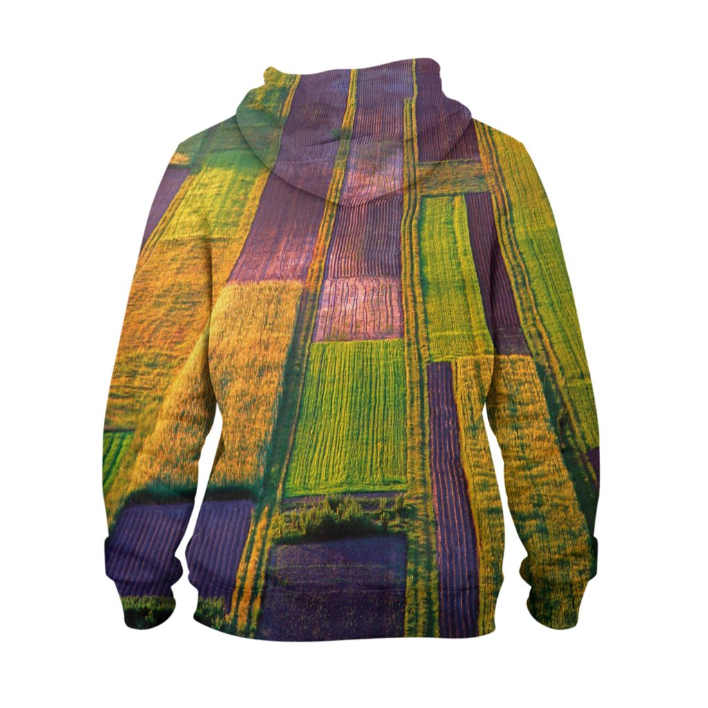 Abstract Fade Colour Hoodie – 3D Printed Pullover Hoodie1