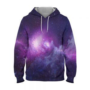 Abstract Galaxy Hoodie – 3D Printed Pullover Hoodie