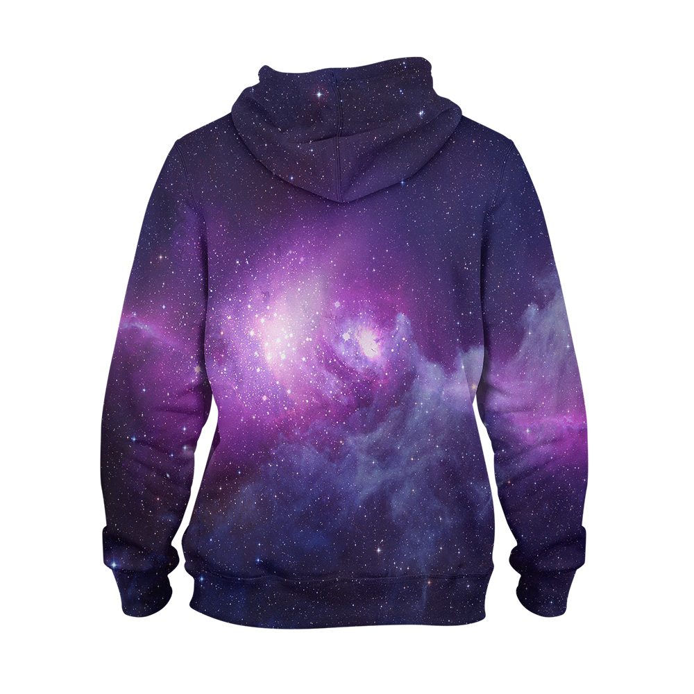 Abstract Galaxy Hoodie – 3D Printed Pullover Hoodie1