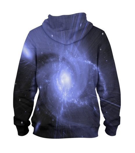 Abstract Galaxy Shining – 3D Printed Pullover Hoodie