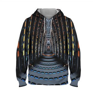 Abstract Illusion Art Hoodie – 3D Printed Pullover Hoodie