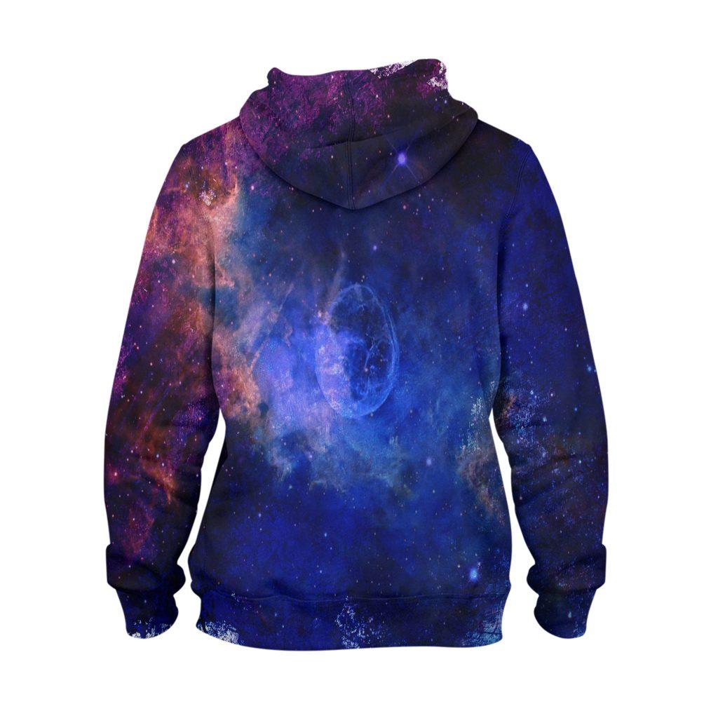 Abstract Night Sky Hoodie – 3D Printed Pullover Hoodie1