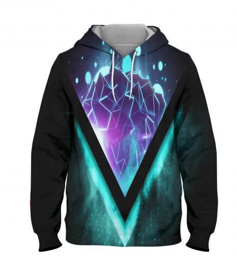 Abstract Rock Hill Hoodie – 3D Printed Pullover Hoodie