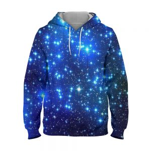 Abstract Shining Star – 3D Printed Pullover Hoodie