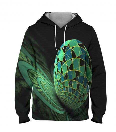 Abstract World Hoodie – 3D Printed Pullover Hoodie