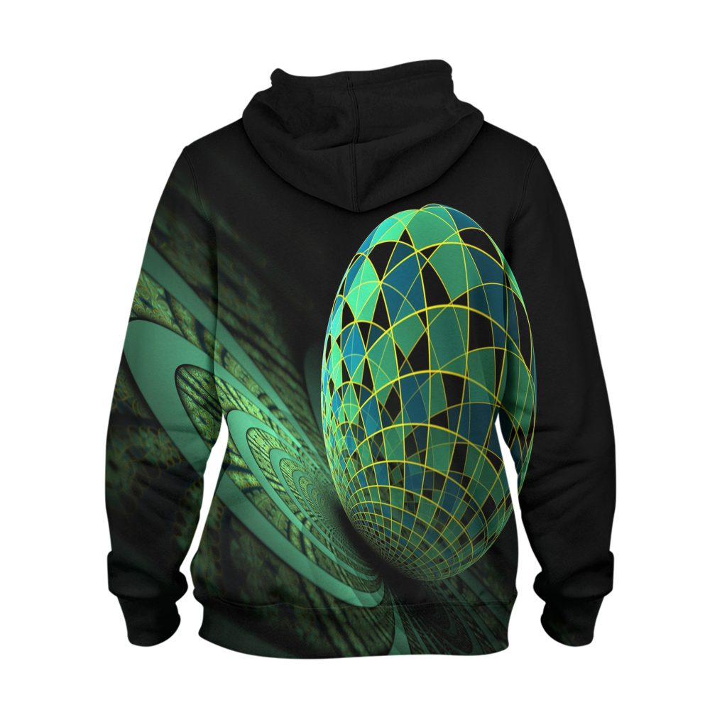 Abstract World Hoodie – 3D Printed Pullover Hoodie1