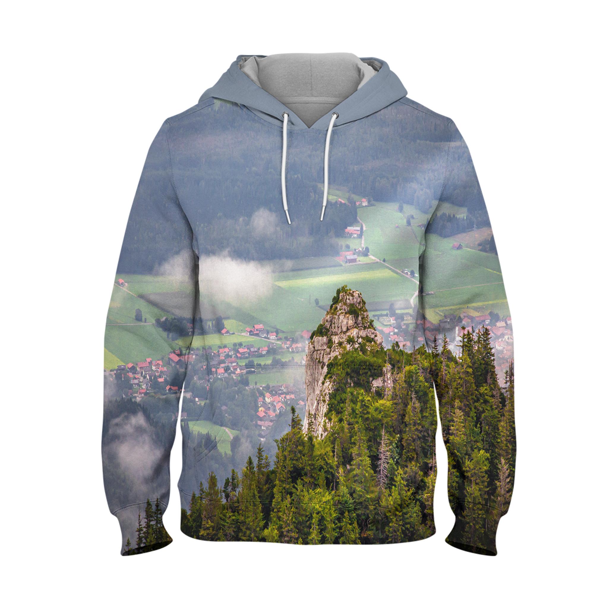 Alpine – 3D Printed Pullover Hoodie