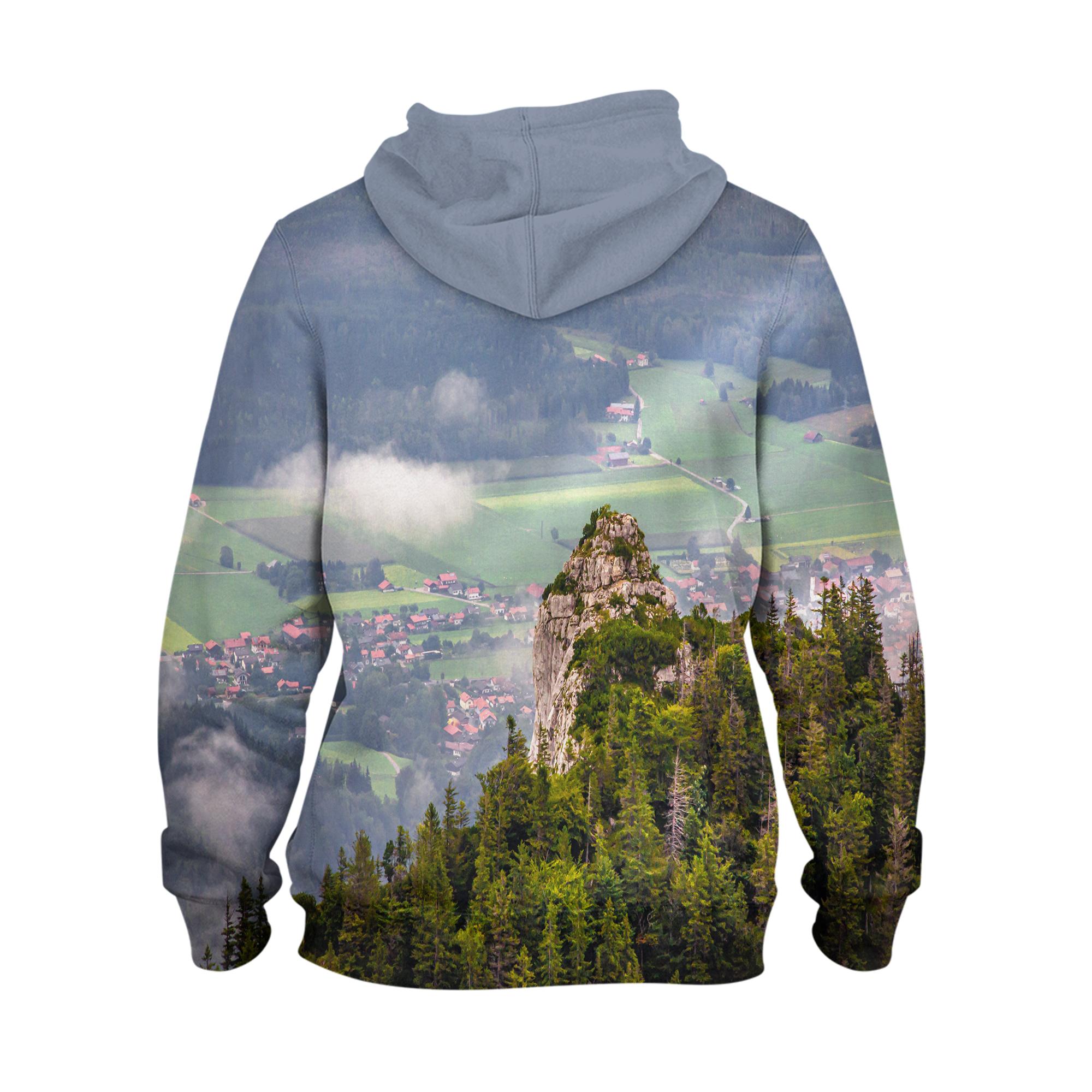 Alpine – 3D Printed Pullover Hoodie1