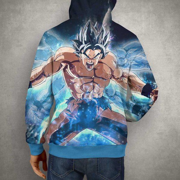 Anime Action Goku 3D Print Hoodie12