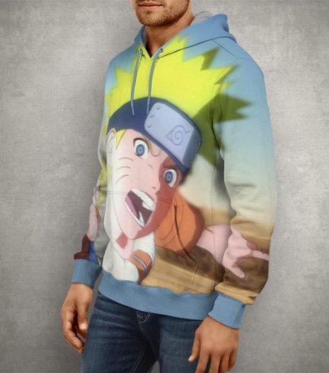 Anime Action Naruto Ninja Storm Hoodie – 3D Printed Pullover Hoodie