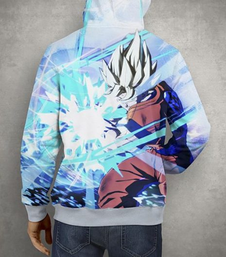 Anime Dragon Ball Z Goku 3D Print Hoodie