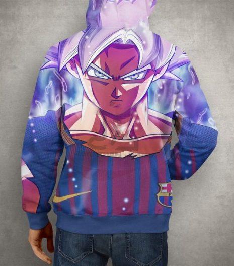 Anime Goku Super Saiyan Hoodie – 3D Printed Pullover Hoodie