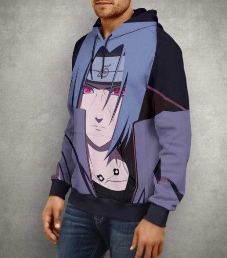 Anime Itachi Uchiha 3D Print Hoodie