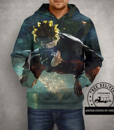 Anime Naruto Hoodie – Jump Force Hoodie
