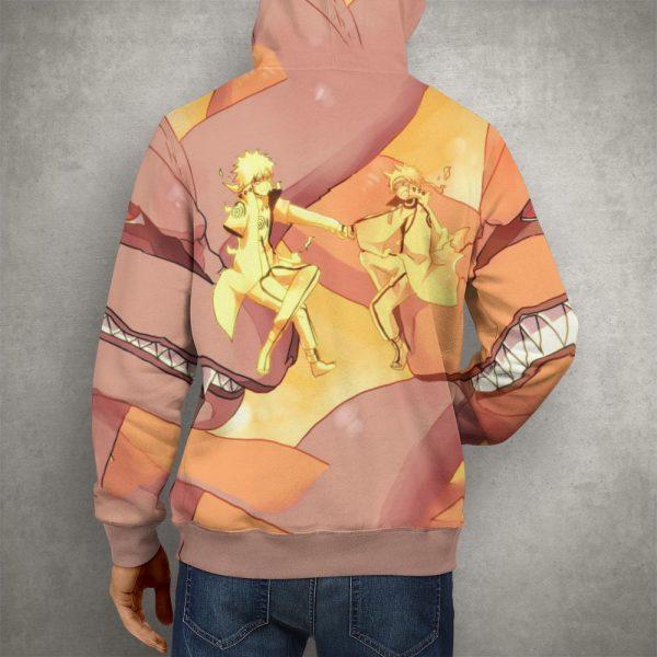 Anime Naruto & Kurama Hoodie – 3D Printed Pullover Hoodie32