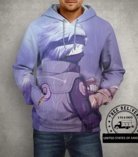 Anime Naruto Manga Artwork Hoodie – 3D Printed Pullover Hoodie