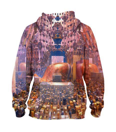 Artistic Colour Hoodie – 3D Printed Pullover Hoodie