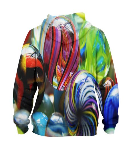 Artistic Colour full Hoodie – 3D Printed Pullover Hoodie