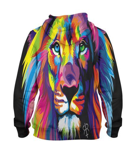 Artistic Tiger Hoodie – 3D Printed Pullover Hoodie
