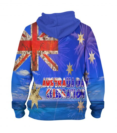 Australia Day Celebration – 3D Printed Pullover Hoodie