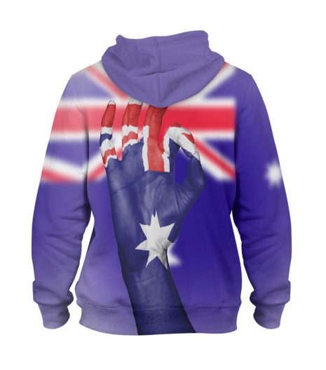 Australia Fantastic Sign Flag – 3D Printed Pullover Hoodie
