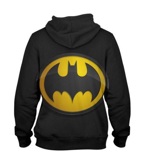 Batman Mango Black Hoodie – 3D Printed Pullover Hoodie