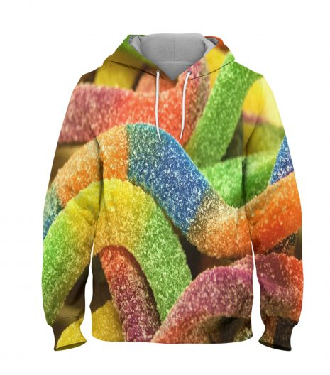 Colour Candy- 3D Printed Pullover Hoodie