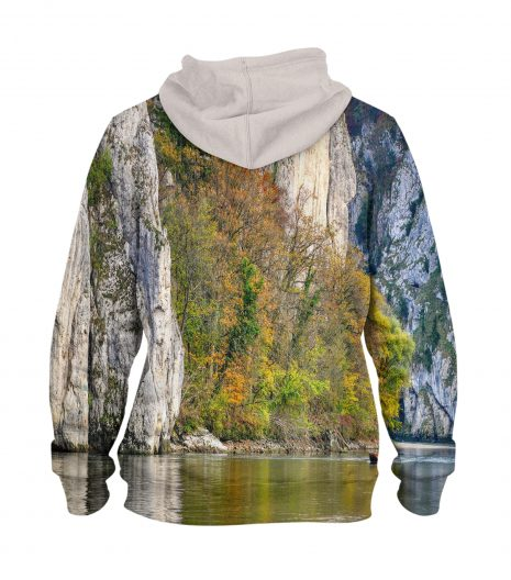 Danube Gorge – 3D Printed Pullover Hoodie