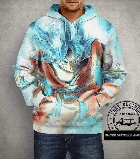 Dragon Ball Z Goku 3D Print Hoodie