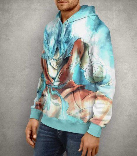 Dragon Ball Z Goku 3D Print Hoodie2