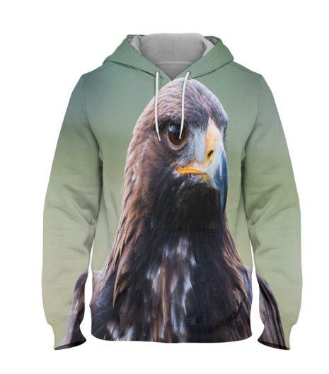 Eagle – 3D Printed Pullover Hoodie