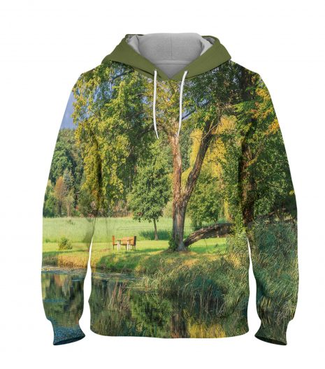 Forest – 3D Printed Pullover Hoodie