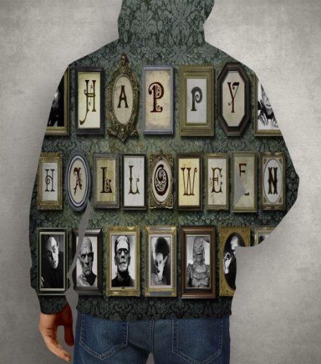 Happy Halloween All Over Print Hoodie