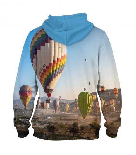 Hot Air Balloons – 3D Printed Pullover Hoodie