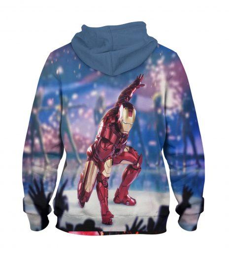 Ironman style Hoodie – 3D Printed Pullover Hoodie