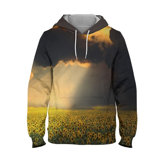 Landscape – 3D Printed Pullover Hoodie
