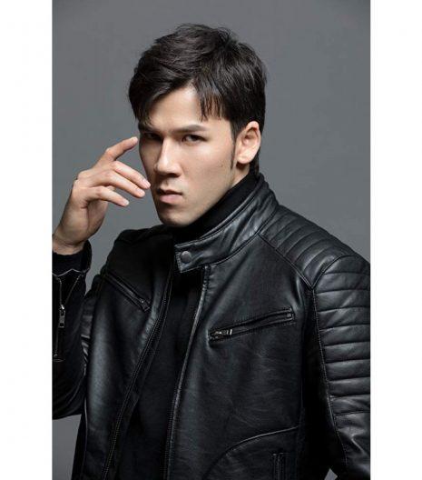 Mortal Kombat Max Huang Leather Jacket 2021