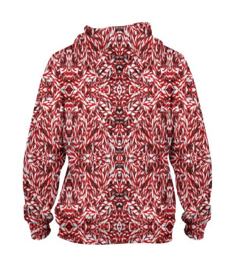 Red Runty – 3D Printed Pullover Hoodie