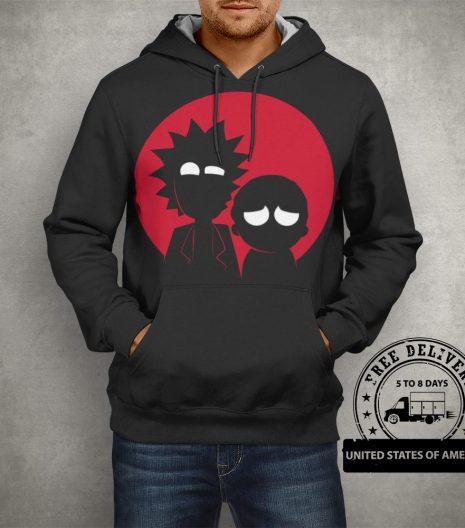 Rick & Morty Black Pullover Hoodie