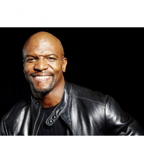 Rumble Terry Crews Leather Jacket 2021