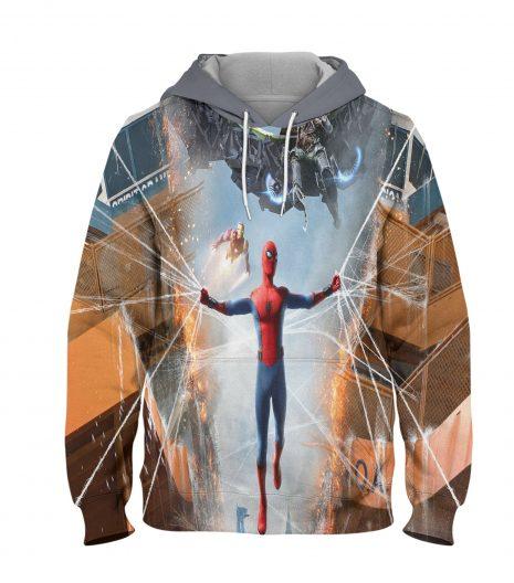 Spider Man Home Coming Hoodie – 3D Printed Pullover Hoodie